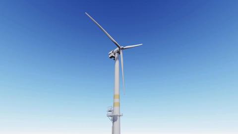 Wind Mill looping Footage