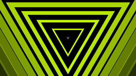 green triangle simple with alpha Animation