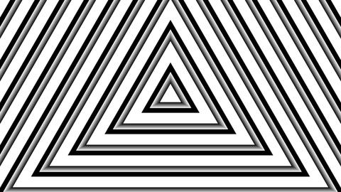 white triangle stripes with alpha matte Animation