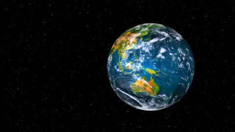 green planet earth Stock Video Footage