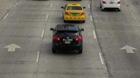 Panama City, Panama - January 10, 2015: Traffic An Stock Video Footage