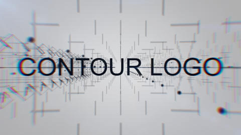 Contour Logo Reveal After Effects Template