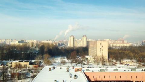 Saint-Petersburg aerial view time lapse Stock Video Footage