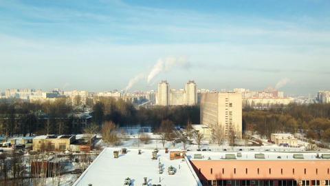 Saint-Petersburg Aerial View Time Lapse stock footage