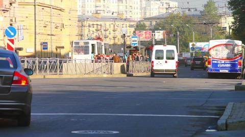 Saint Petersburg cityscape Stock Video Footage