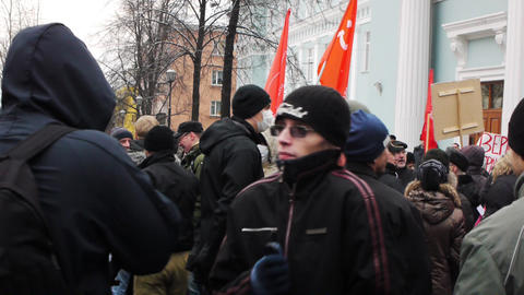 Protests against unfair elections in Russia on Dec Live Action