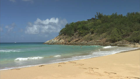 Beach scene Live Action