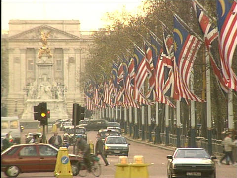The Mall and Buckingham Palace Live Action