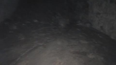 mysterious path through the cave Footage
