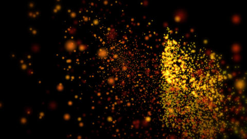 Particle 5 HDTV Stock Video Footage