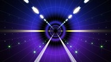Neon Tunnel A HD stock footage