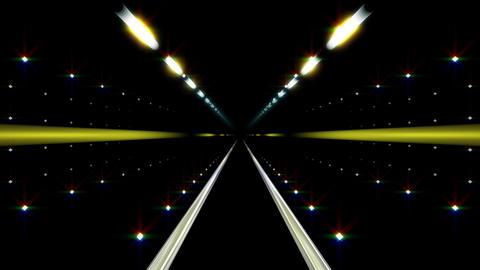 Neon Tunnel E HD Stock Video Footage