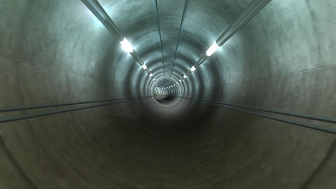 Subway Tunnel A2 HD Animation