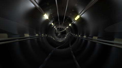 Subway Tunnel C2 HD Animation