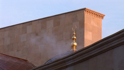 mosque kyiv 5 Stock Video Footage