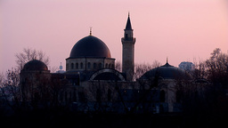 mosque kyiv 19 Stock Video Footage