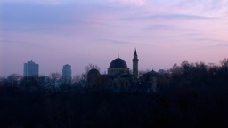 mosque kyiv 21 Stock Video Footage