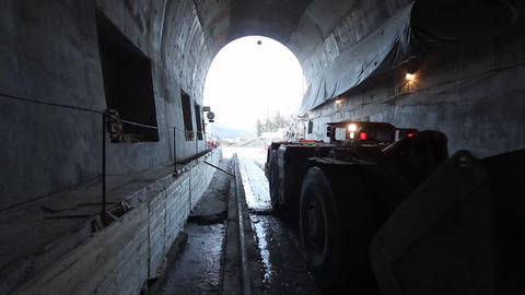 Tunnel 2 Stock Video Footage