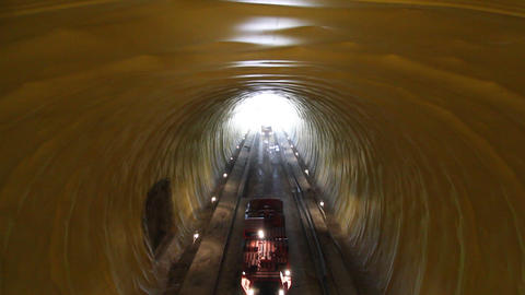 Tunnel 7 Stock Video Footage