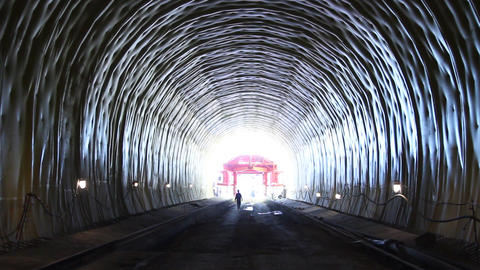 Tunnel 8 Stock Video Footage