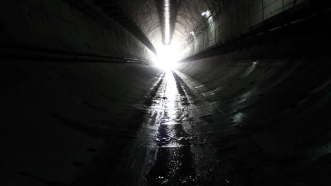 Tunnel construction 013 Stock Video Footage
