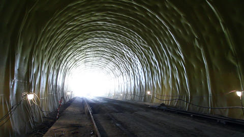 Tunnel 12 Stock Video Footage