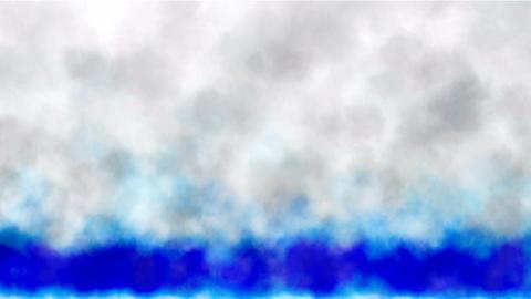 Blue smoke rising Stock Video Footage