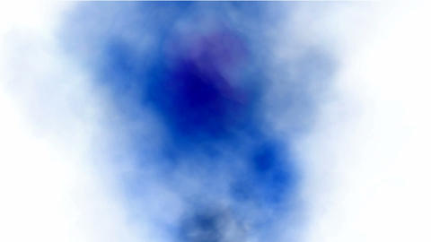 Blue smoke rising.cloud,smog,Fireworks,fire,flame,gas,particle Animation