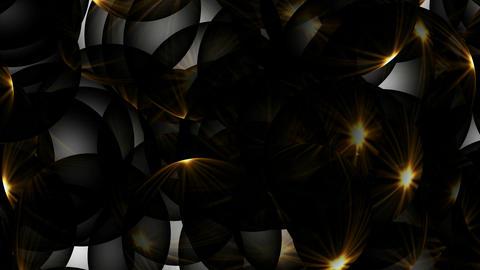 golden sunlight through crystal... Stock Video Footage