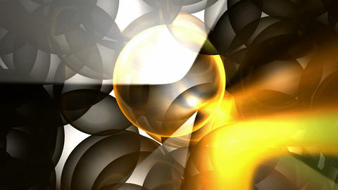 golden sunlight through glass ball.glass and ray... Stock Video Footage