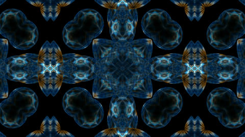 blue flower lotus pattern,kaleidoscope.Buddhism Mandala flower,kaleidoscope,oriental religion textur Animation