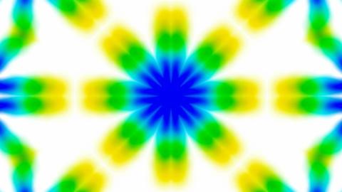Animation of green flower lotus texture.Buddhism Mandala flower,kaleidoscope,oriental religion textu Animation