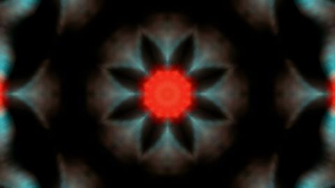 color flower lotus fancy distortion,kaleidoscope.Buddhism... Stock Video Footage