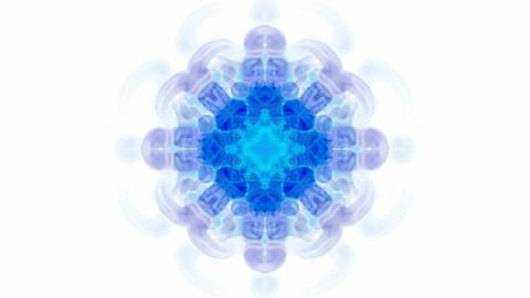 blue flower lotus pattern,orient religion... Stock Video Footage