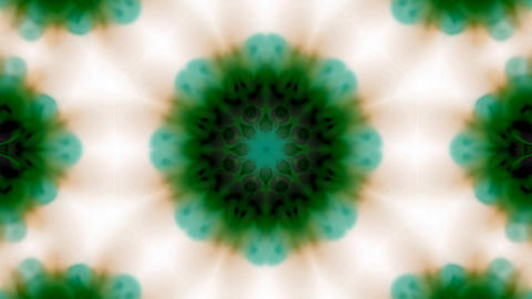 green flower lotus pattern,kaleidoscope,gorgeous oriental religion fancy.Buddhism Mandala flower Animation