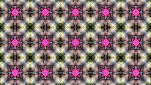 Gorgeous oriental flower lotus fancy gem background.Buddhism Mandala flower,kaleidoscope,oriental re Animation