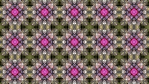 Gorgeous oriental flower lotus fancy gem... Stock Video Footage