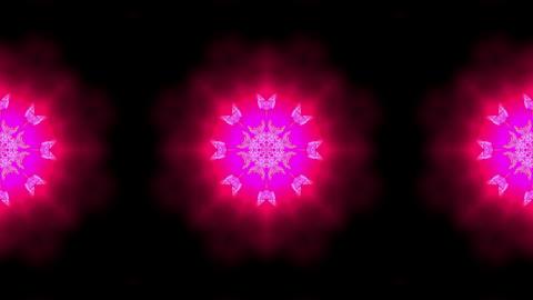 purple butterfly circle pattern and smoke.lotus,Buddhism... Stock Video Footage