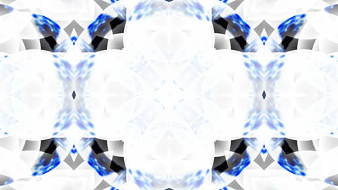 blue glass flower lotus fancy pattern.Buddhism Mandala flower,kaleidoscope,oriental religion texture Animation