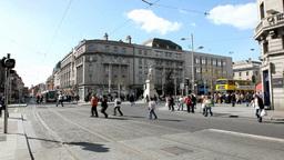 Dublin Traffic 2 Stock Video Footage
