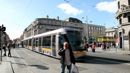 Dublin Traffic 2 Stock Video Footage