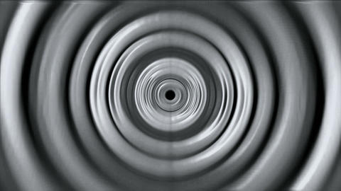 3d gray metal round,ripple,circle computer... Stock Video Footage
