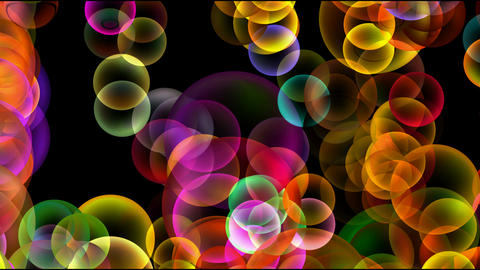 Animation of color disco balls or bubble.Drop,water,mercury,mirror,lens,crystal,jewelry,transparent Animation