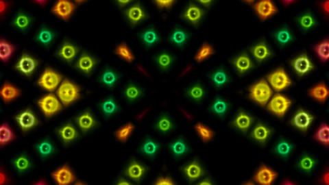 color disco neon light... Stock Video Footage