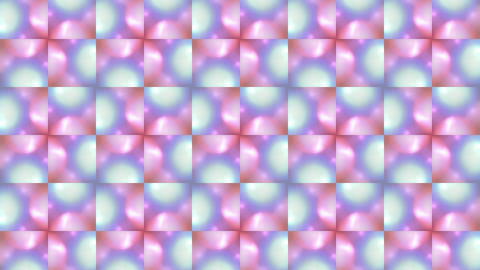 color flower mosaics array,fancy pattern and light,disco... Stock Video Footage