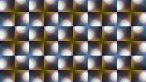 color flower mosaics array,fancy pattern and light,disco ligth texture Animation