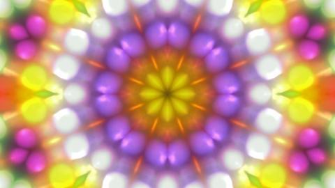 color disco flower pattern,magnificent orient fancy texture,disco rhythm light background Animation