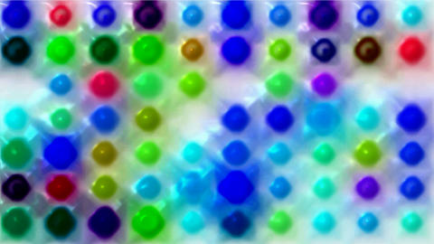 3d color dots and particles array background.glass,concert,effects,entertainment,illumination Animation
