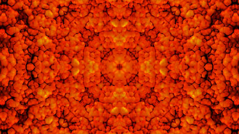 red fire,flower pattern.Horror,blood,bleeding,Lava,melting,magma,Bacteria,microbes,algae,cells,drugs Animation