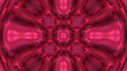 red deform flower lotus pattern and light.Buddhism Mandala flower,kaleidoscope,oriental religion tex Animation